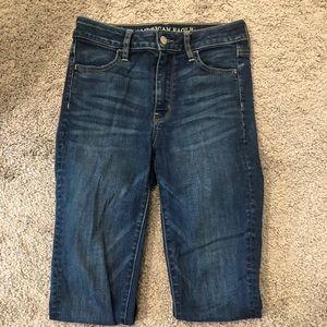 AE High Rise Skinny Super Stretch Jeans
